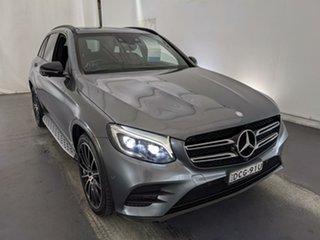 2015 Mercedes-Benz GLC-Class X253 GLC220 d 9G-Tronic 4MATIC Grey 9 Speed Sports Automatic Wagon.