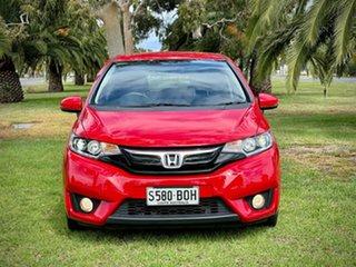 2017 Honda Jazz GF MY17 VTi-S Red/Black 1 Speed Constant Variable Hatchback.
