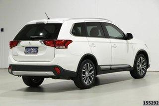 2015 Mitsubishi Outlander ZK MY16 LS (4x2) White Continuous Variable Wagon