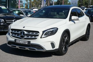 2017 Mercedes-Benz GLA-Class X156 808+058MY GLA250 DCT 4MATIC White 7 Speed