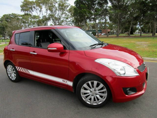Used Suzuki Swift FZ RE.2 Glenelg, 2012 Suzuki Swift FZ RE.2 Red 5 Speed Manual Hatchback