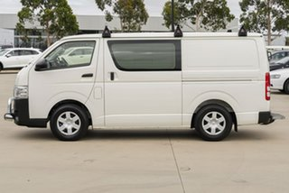2018 Toyota HiAce KDH201R LWB White 4 Speed Automatic Van