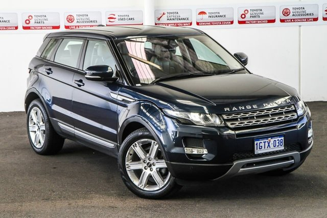 Pre-Owned Land Rover Range Rover Evoque LV SD4 Pure Myaree, 2012 Land Rover Range Rover Evoque LV SD4 Pure 6 Speed Automatic Wagon