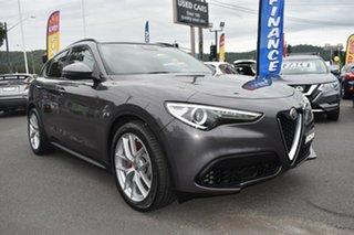 2018 Alfa Romeo Stelvio Ti AWD Grey 8 Speed Sports Automatic Wagon.