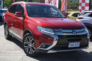 2018 Mitsubishi Outlander ZL MY18.5 LS 2WD Maroon 6 Speed Constant Variable Wagon.