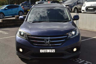 2013 Honda CR-V RM MY14 VTi-L 4WD Blue 5 Speed Sports Automatic Wagon