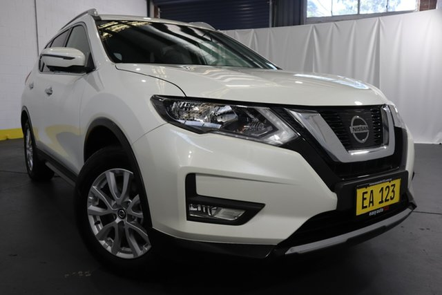 Used Nissan X-Trail T32 Series 2 ST-L 7 Seat (2WD) Castle Hill, 2019 Nissan X-Trail T32 Series 2 ST-L 7 Seat (2WD) White Continuous Variable Wagon