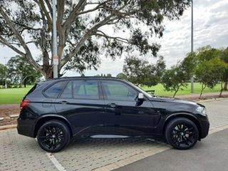 2016 BMW X5 F15 M50D Black 8 Speed Sports Automatic Wagon.
