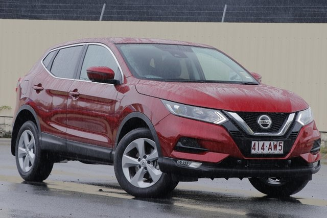 Demo Nissan Qashqai J11 Series 3 MY20 ST+ X-tronic Bundamba, 2020 Nissan Qashqai J11 Series 3 MY20 ST+ X-tronic Magnetic Red 1 Speed Constant Variable Wagon