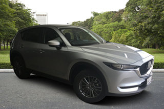 2021 Mazda CX-5 KF4WLA Maxx SKYACTIV-Drive i-ACTIV AWD Sonic Silver 6 Speed Sports Automatic Wagon.