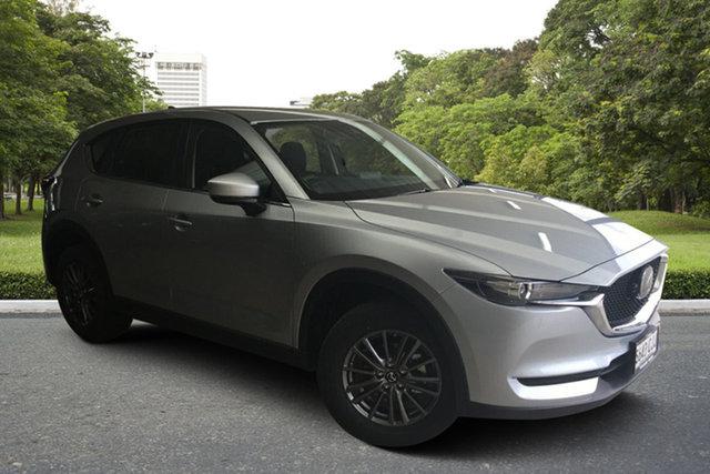 Demo Mazda CX-5 KF4WLA Maxx SKYACTIV-Drive i-ACTIV AWD Paradise, 2021 Mazda CX-5 KF4WLA Maxx SKYACTIV-Drive i-ACTIV AWD Sonic Silver 6 Speed Sports Automatic Wagon