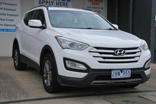 2012 Hyundai Santa Fe DM Active CRDi (4x4) White 6 Speed Automatic Wagon.