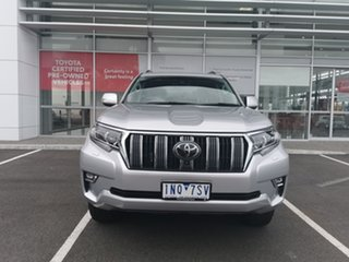 2018 Toyota Landcruiser Prado GDJ150R Kakadu Silver 6 Speed Sports Automatic Wagon.