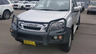 2015 Isuzu D-MAX MY15 LS-M Crew Cab Silver 5 Speed Sports Automatic Utility