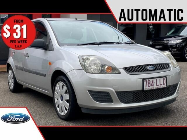 Used Ford Fiesta WQ LX Ashmore, 2008 Ford Fiesta WQ LX Metallic Silver 4 Speed Automatic Hatchback