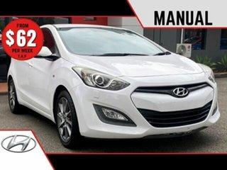 2013 Hyundai i30 GD2 SR White 6 Speed Manual Hatchback.