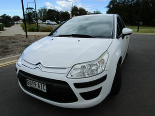 2010 Citroen C4 MY09 Exclusive White 4 Speed Automatic Hatchback