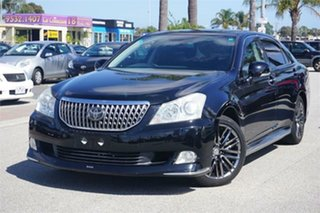2010 Toyota Crown URS206 Majesta Black 8 Speed Automatic Sedan.