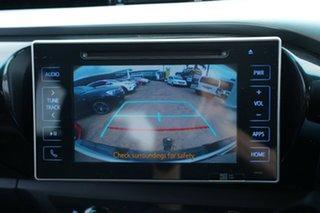 2015 Toyota Hilux GUN126R SR5 (4x4) White 6 Speed Automatic Dual Cab Utility