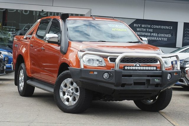 Used Holden Colorado RG MY15 LTZ Crew Cab Homebush, 2015 Holden Colorado RG MY15 LTZ Crew Cab Orange 6 Speed Sports Automatic Utility