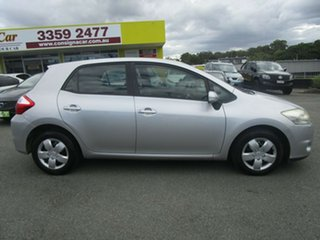 2012 Toyota Corolla ZRE152R MY11 Ascent Silver 4 Speed Automatic Hatchback