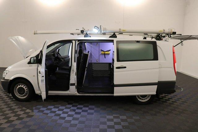 Used Mercedes-Benz Vito 639 MY13 113CDI SWB Acacia Ridge, 2013 Mercedes-Benz Vito 639 MY13 113CDI SWB White 5 speed Automatic Van