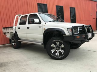 2000 Toyota Hilux KZN165R SR5 White 5 Speed Manual Utility