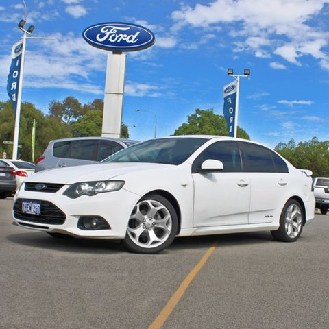 Used Ford Falcon FG MkII XR6 Midland, 2012 Ford Falcon FG MkII XR6 White 6 Speed Sports Automatic Sedan
