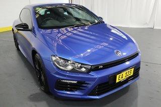 2016 Volkswagen Scirocco 1S MY17 R Coupe DSG Wolfsburg Edition Blue 6 Speed.