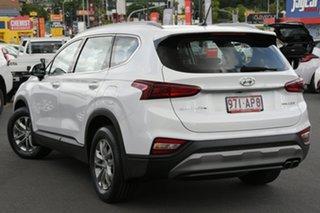 2018 Hyundai Santa Fe TM MY19 Active Pearl White 8 Speed Sports Automatic Wagon