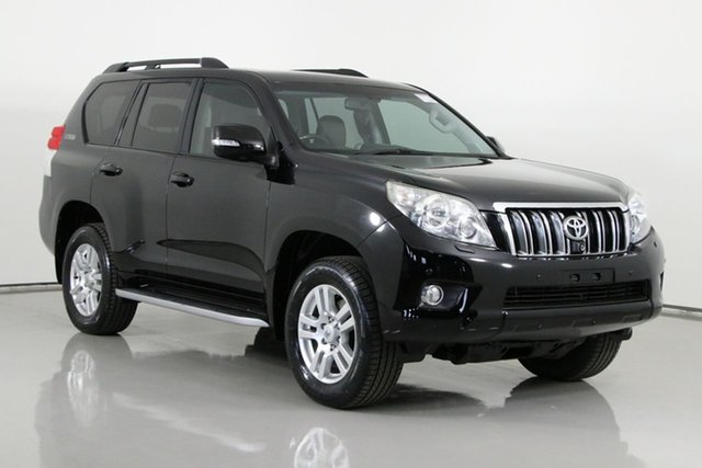 Used Toyota Landcruiser Prado GRJ150R Kakadu (4x4) Bentley, 2009 Toyota Landcruiser Prado GRJ150R Kakadu (4x4) Black 5 Speed Sequential Auto Wagon
