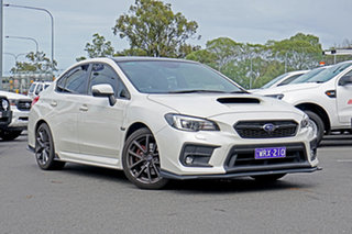 2018 Subaru WRX V1 MY18 Premium AWD White 6 Speed Manual Sedan.
