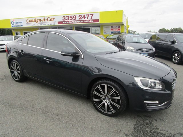 Used Volvo S60 F Series MY15 T5 Adap Geartronic Luxury Kedron, 2014 Volvo S60 F Series MY15 T5 Adap Geartronic Luxury Grey 8 Speed Sports Automatic Sedan