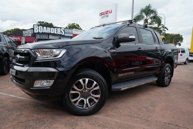 Used Ford Ranger PX MkII MY17 Wildtrak 3.2 (4x4) Brookvale, 2017 Ford Ranger PX MkII MY17 Wildtrak 3.2 (4x4) Black 6 Speed Manual Dual Cab Pick-up
