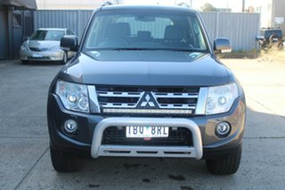 2014 Mitsubishi Pajero NW MY14 VR-X LWB (4x4) Grey 5 Speed Auto Sports Mode Wagon.