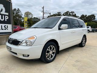 2014 Kia Carnival SLi White Sports Automatic Wagon