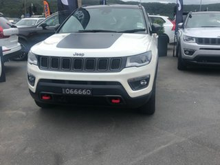 2020 Jeep Compass M6 MY20 Trailhawk Vocal White 9 Speed Automatic Wagon.