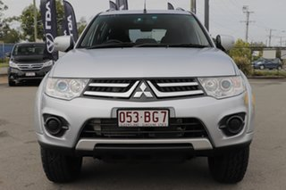 2015 Mitsubishi Challenger PC (KH) MY14 Cool Silver 5 Speed Sports Automatic Wagon