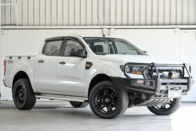 Used Ford Ranger PX MkII 2018.00MY XL Laverton North, 2017 Ford Ranger PX MkII 2018.00MY XL White 6 Speed Sports Automatic Utility