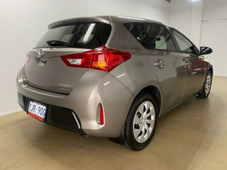 2013 Toyota Corolla ZRE182R Ascent Grey 7 Speed CVT Auto Sequential Hatchback.