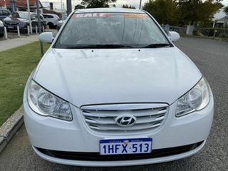 2010 Hyundai Elantra HD SX White 4 Speed Automatic Sedan