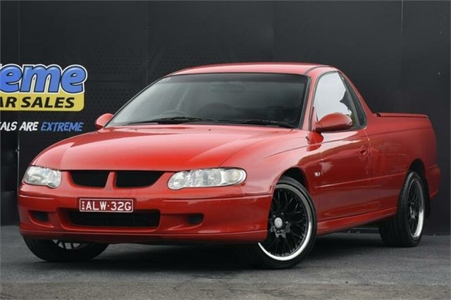 Used Holden Ute VU S Campbelltown, 2000 Holden Ute VU S Red 4 Speed Automatic Utility