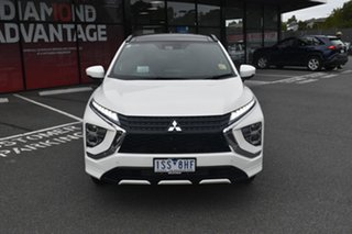 2020 Mitsubishi Eclipse Cross YB MY21 Exceed 2WD White 8 Speed Constant Variable Wagon.