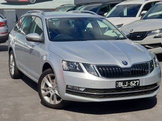 2020 Skoda Octavia NE MY20.5 110TSI DSG Silver 7 Speed Sports Automatic Dual Clutch Wagon.