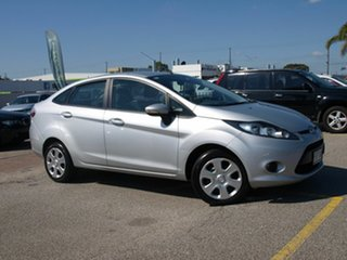 2011 Ford Fiesta WT CL PwrShift Silver 6 Speed Sports Automatic Dual Clutch Sedan.