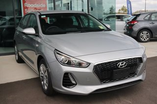 2019 Hyundai i30 PD.3 MY20 Go Typhoon Silver 6 Speed Sports Automatic Hatchback.
