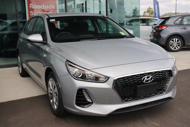 Used Hyundai i30 PD.3 MY20 Go Springwood, 2019 Hyundai i30 PD.3 MY20 Go Typhoon Silver 6 Speed Sports Automatic Hatchback