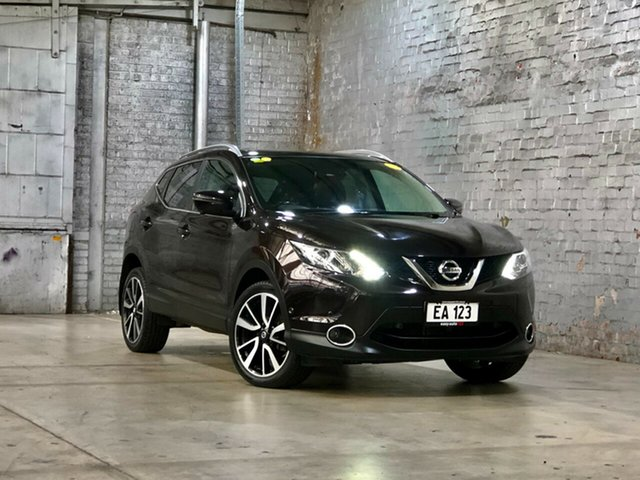 Used Nissan Qashqai J11 TI Mile End South, 2014 Nissan Qashqai J11 TI Purple 1 Speed Constant Variable Wagon