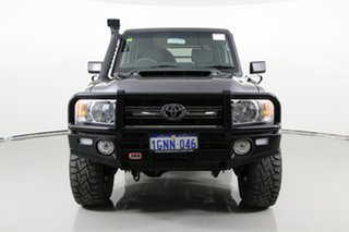 2018 Toyota Landcruiser VDJ79R GXL (4x4) Grey 5 Speed Manual Double Cab Chassis.