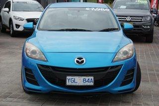 2009 Mazda 3 BL10F1 Neo Blue 6 Speed Manual Sedan.